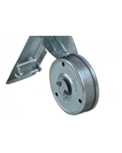 Recogedor metálico cinta 22