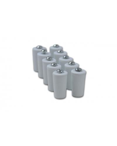 Pack 10 topes de 40  de plástico