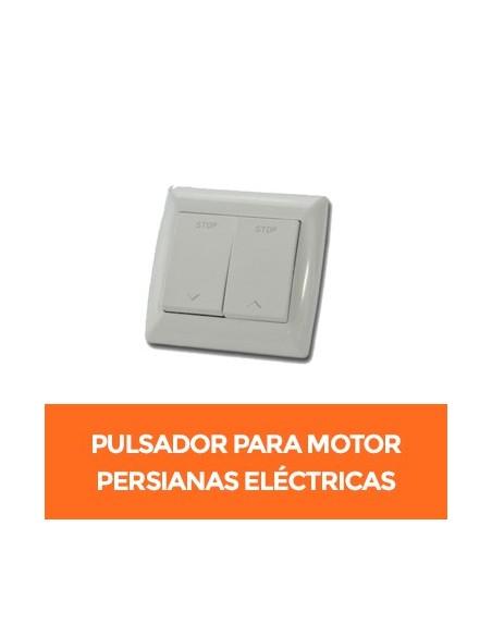 Pulsadores para motor interruptor de persianas eléctricas