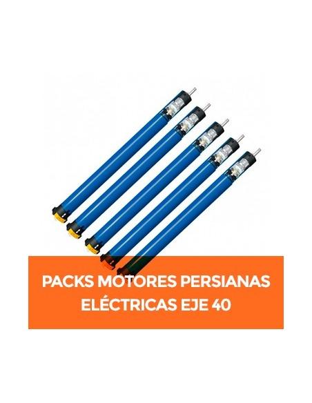 Pack de motores para persianas eléctricas para eje de 40