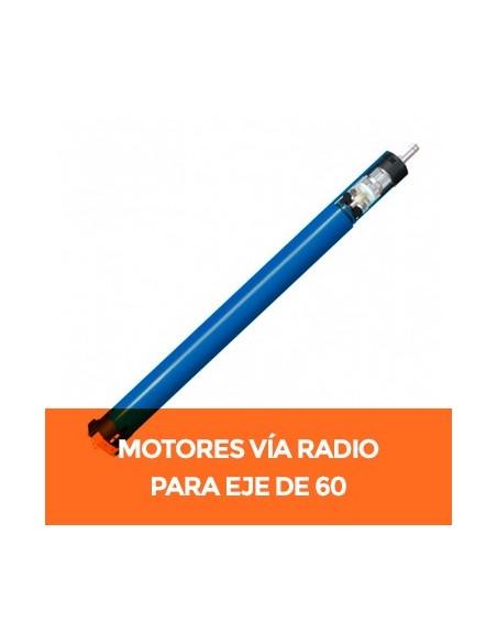 Motores vía radio para eje de 60