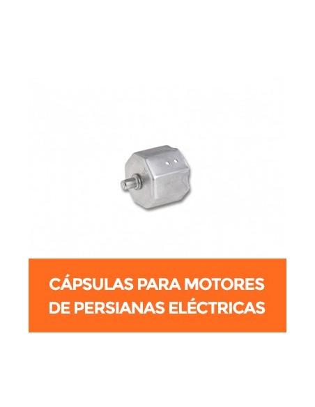 Cápsulas para motor vía radio de persiana eléctricas